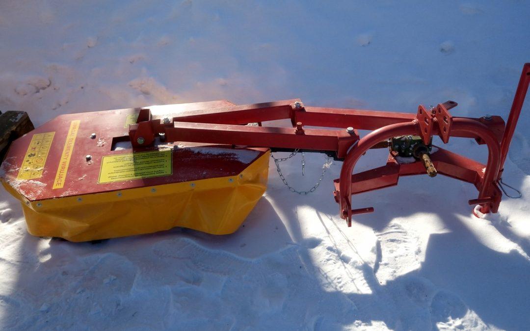 Lieriöniittokone TARET 100cm – pikkutraktoriin