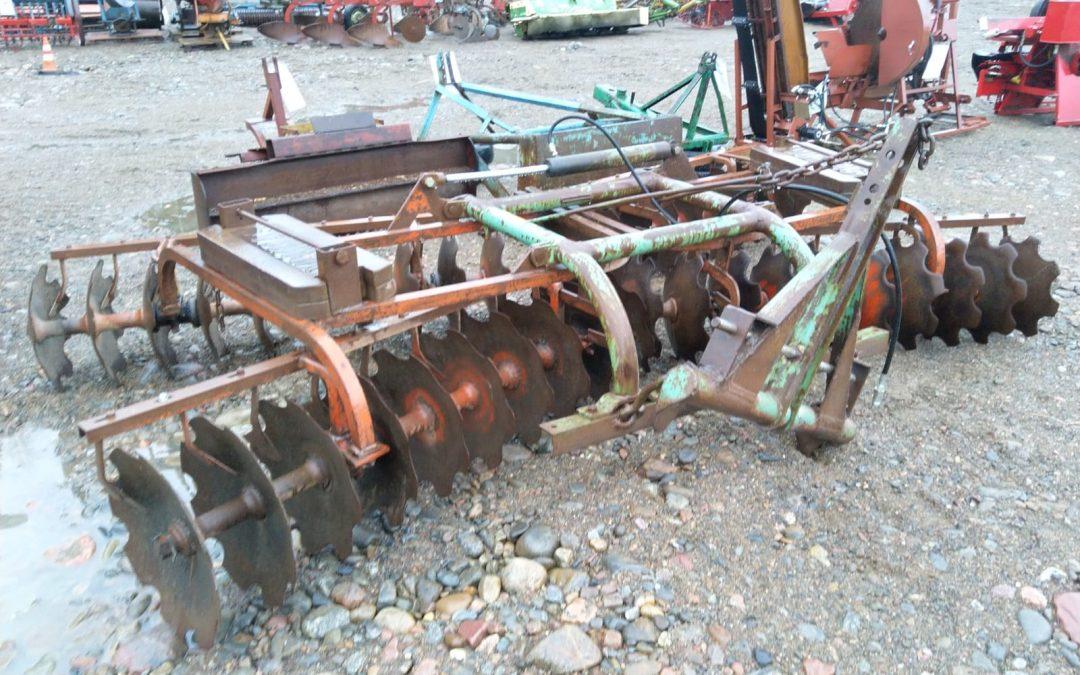 Lautasäes Kverneland 400cm – hydraulisesti taittuva