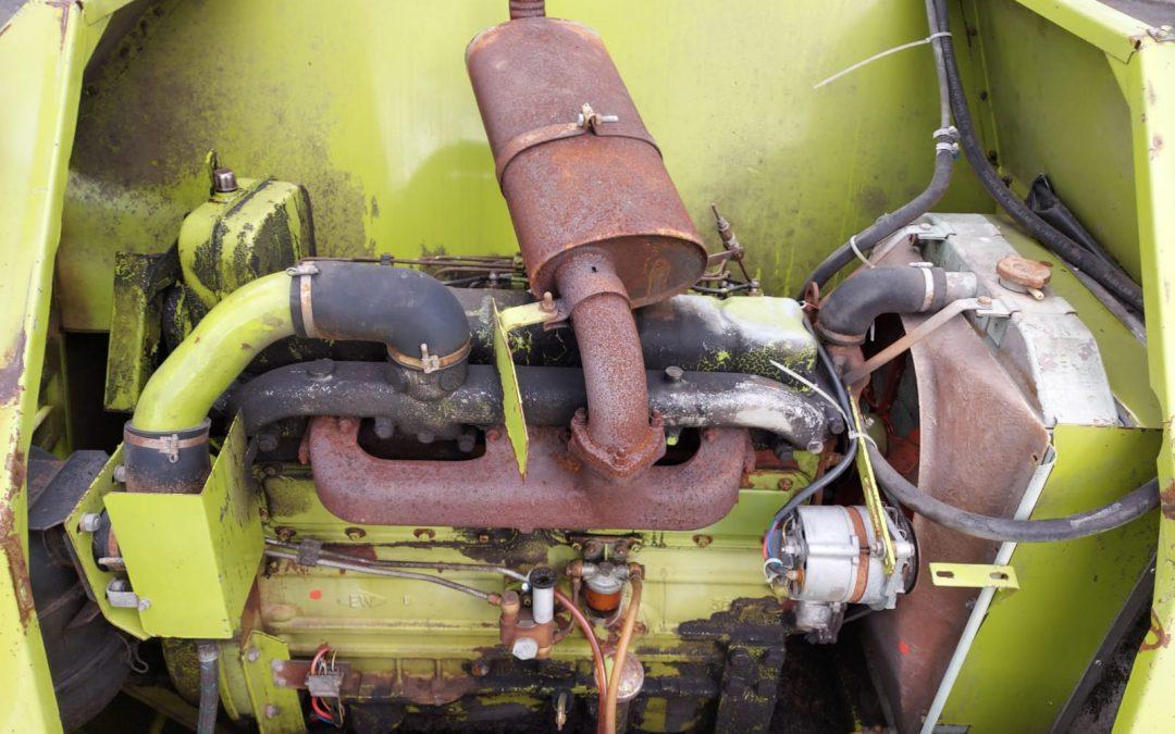 Perkins 6-sylinterinen dieselmoottori – apulaitteineen