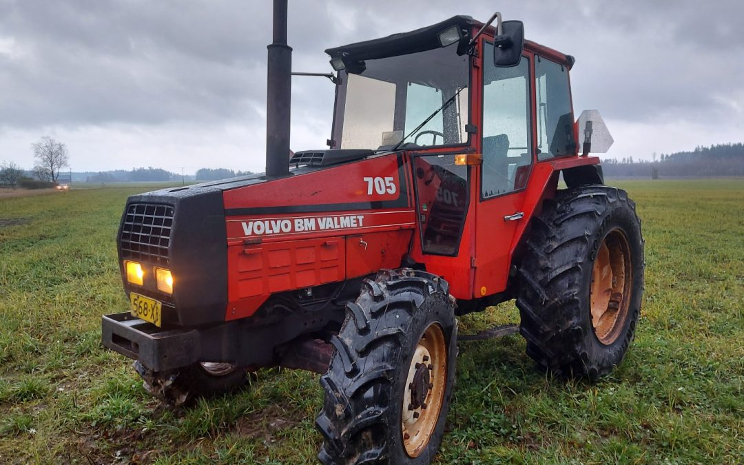 Valmet 705 Volvo BM Turbo – 4×4 – VIDEO