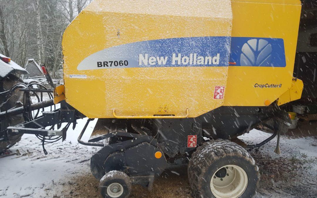 New Holland BR7060 – CropCutter II – Asiakkaan lukuun