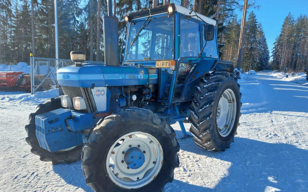 Ford 6610 traktori – 4×4 – VIDEO