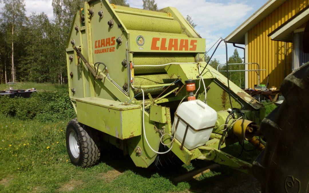Claas Rollant 62 – pyöröpaalain – Asiakkaan lukuun