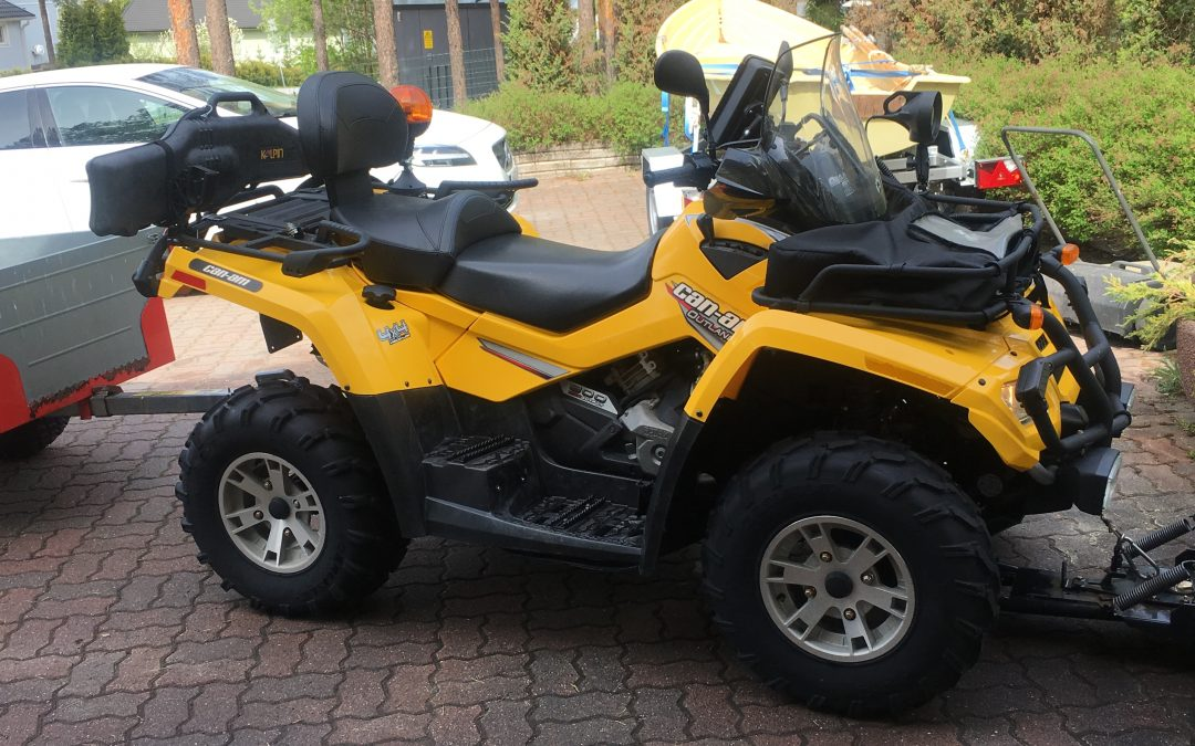 Mönkijä Can-Am Outlander 800 MAX XT – LISÄVARUSTEILLA