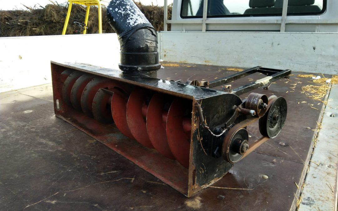 Lumilinko 100cm – pikkutraktoriin tai ruohonleikkuriin?