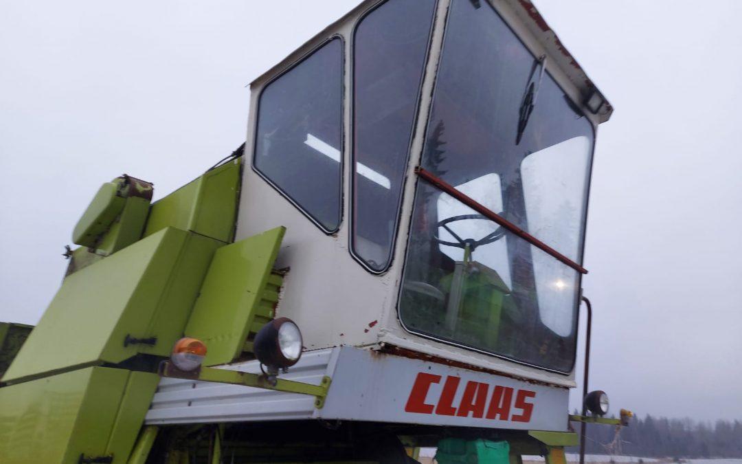 Claas Mercator 75 hytti
