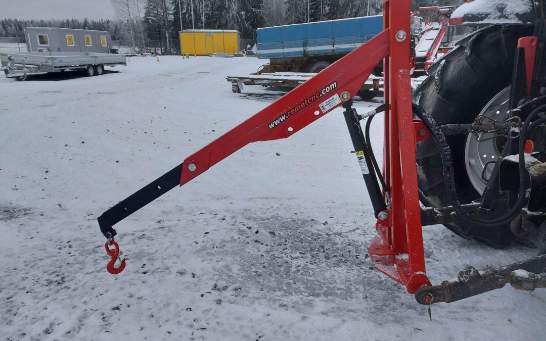 Remet Crane 250 – hydraulinostin – VIDEO