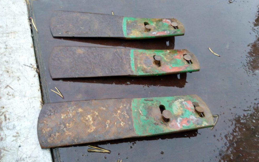 Kverneland siipien jatkot sarka-auraan – 3kpl – A3 kyntöaurasta