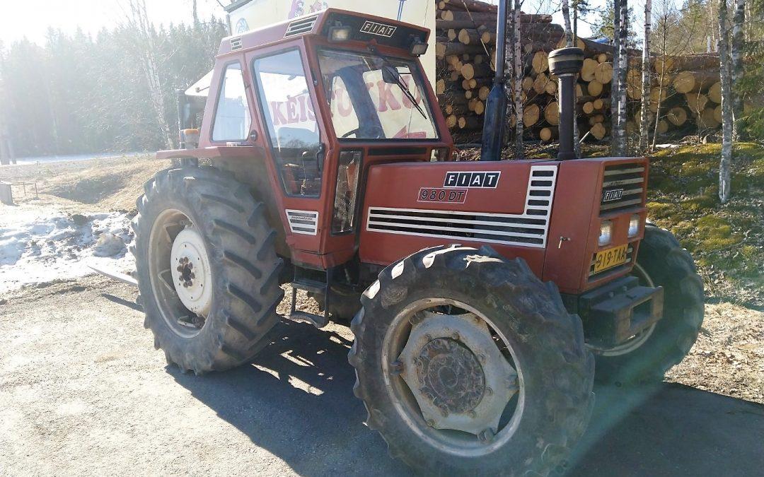 FIAT 980 DT – traktori – 4×4 – 4WD – VIDEO