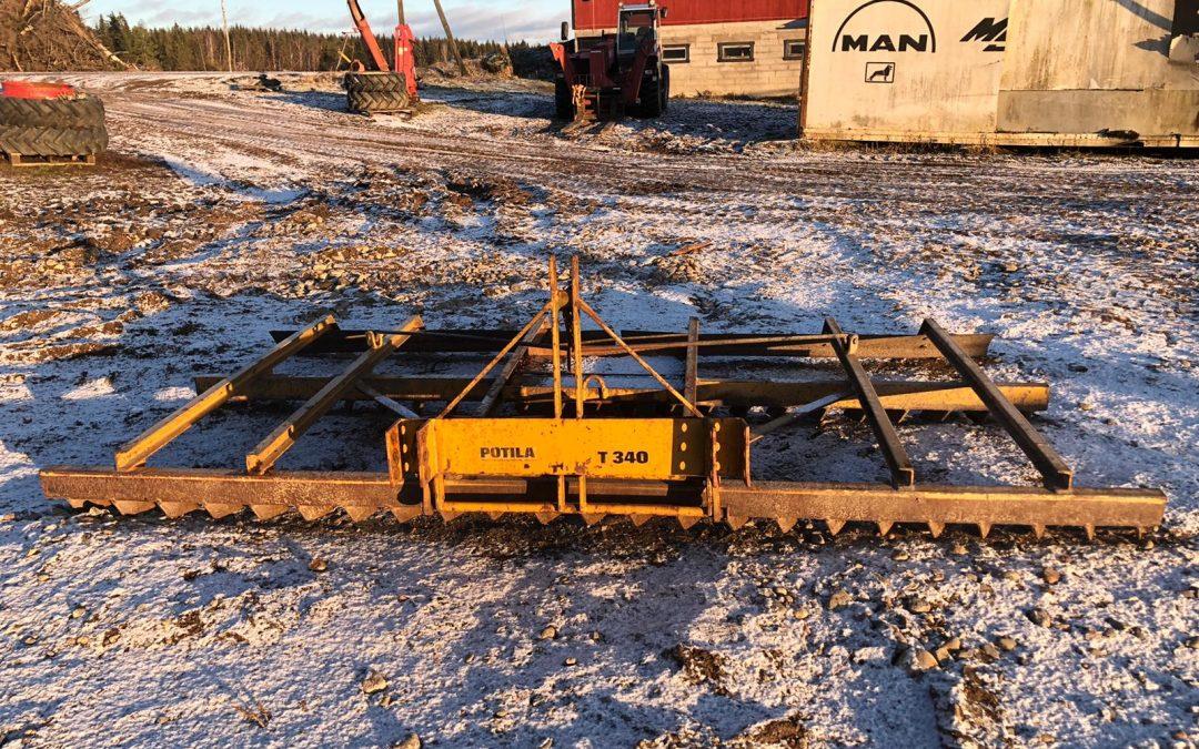 Tasausäes POTILA T340 – Näppärä – Esim. Ratsastuskentille