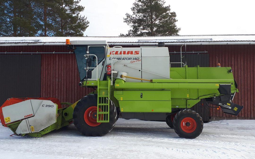 Claas Dominator 140 Hydro Drive – leikkuupuimuri