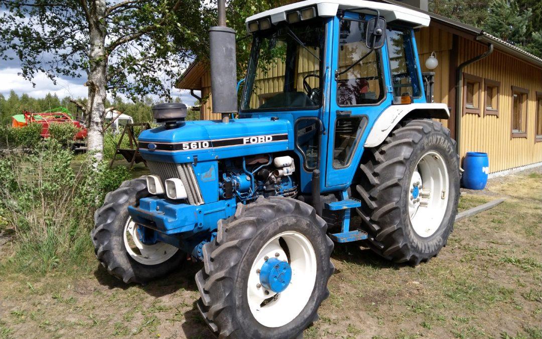 Traktori Ford 5610 MK2 – NELIVETO – 4WD