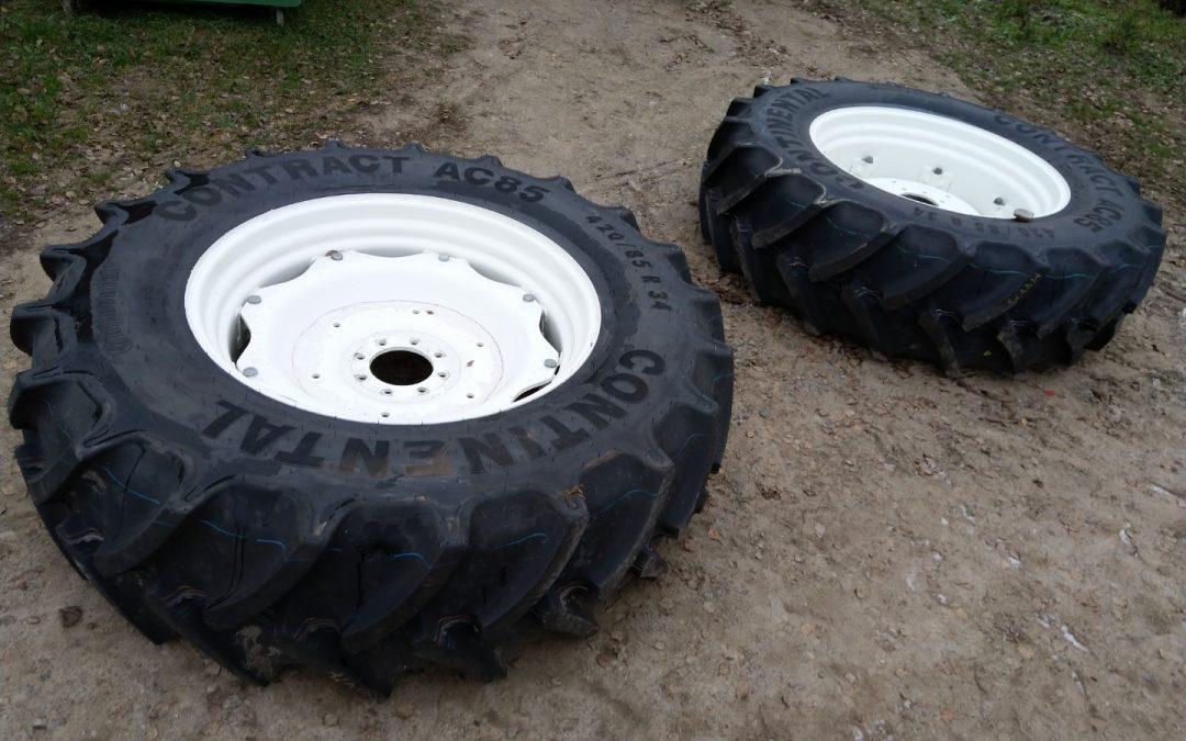 Traktorin renkaat 420/85R34 Continental – UUDET – VANTEILLA