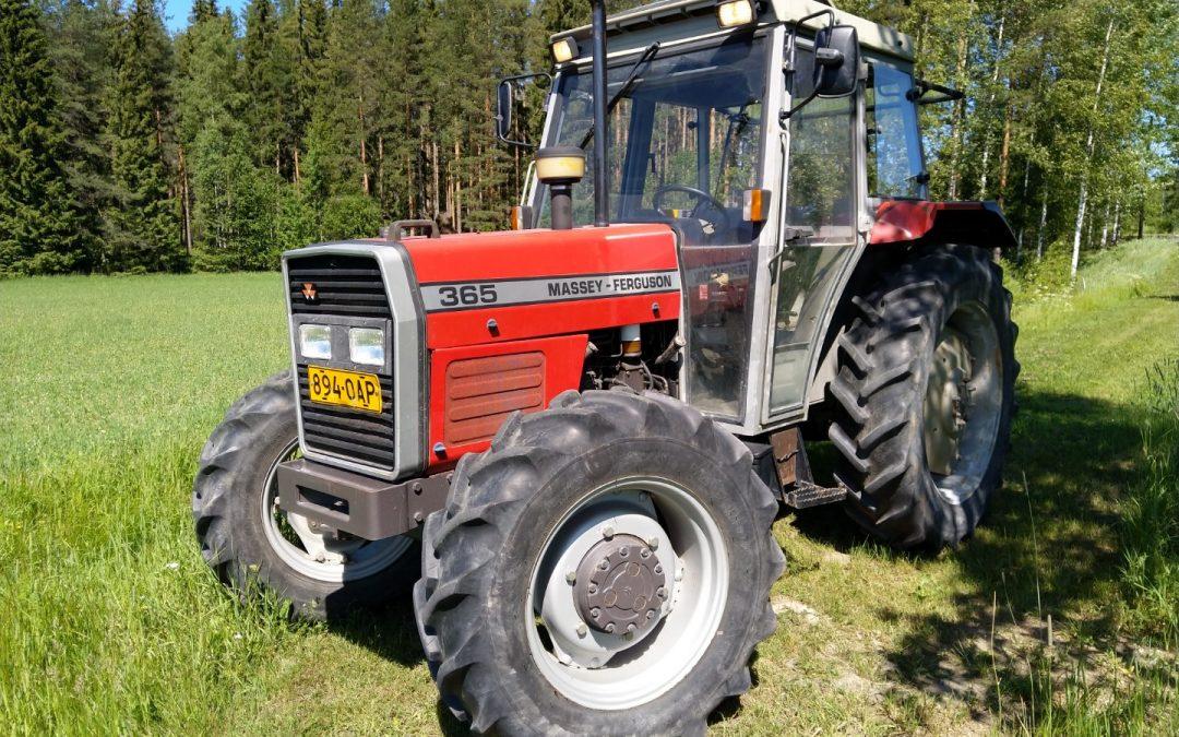Traktori Massey Ferguson 365 – NELIVETO – VIDEO
