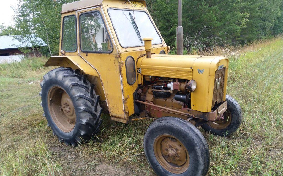 Valmet 500 – traktori – uusi laturi ja startti – VIDEO
