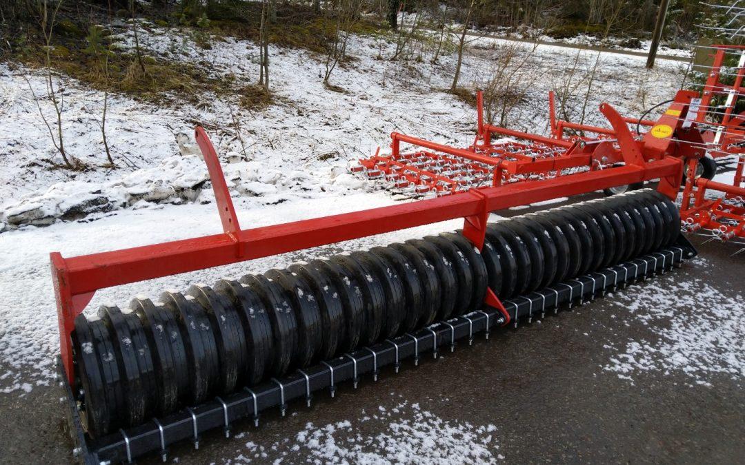 KUMIPAKKERI 400CM – ROL/EX – UUSI – n. 600kg