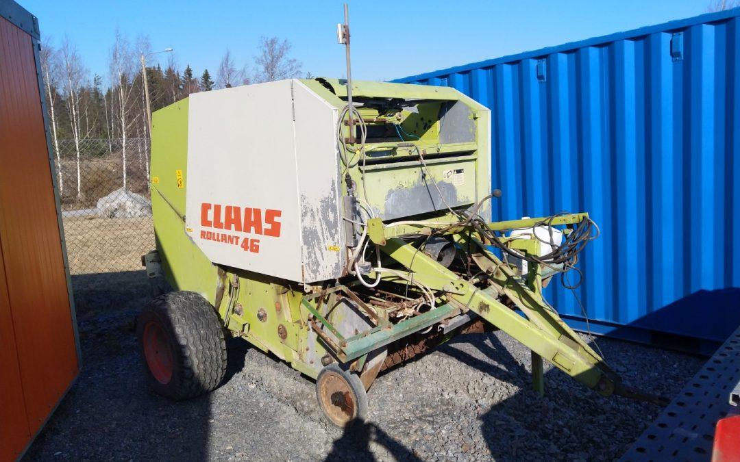 Claas Rollant 46 – pyöröpaalain