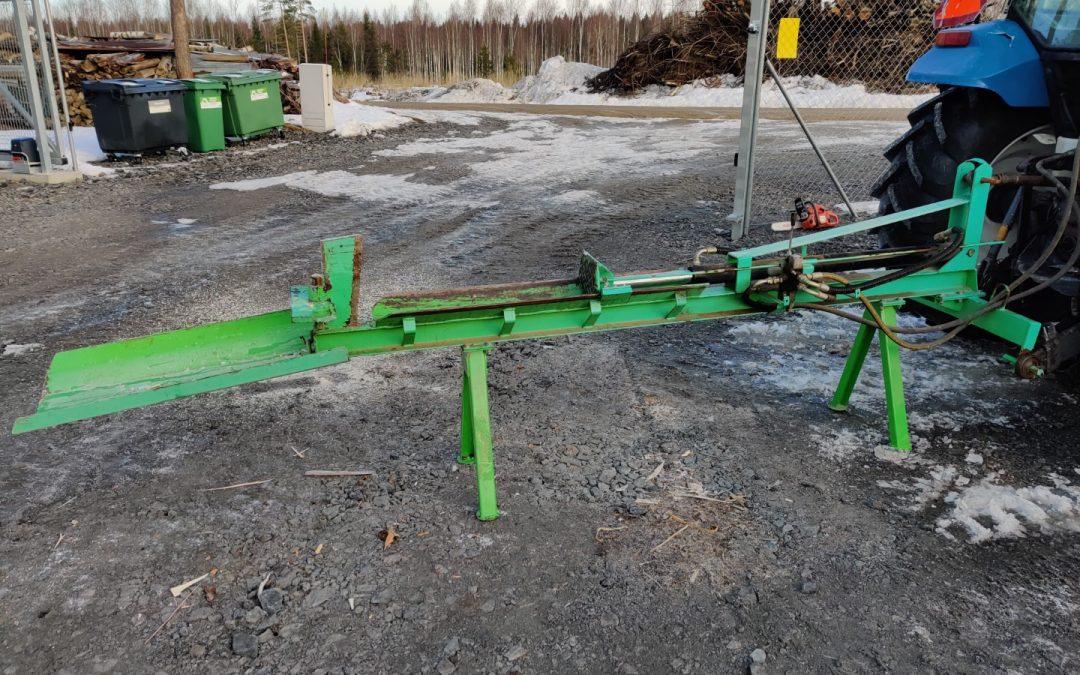 Kellfri VK1100 hydraulihalkoja – VIDEO