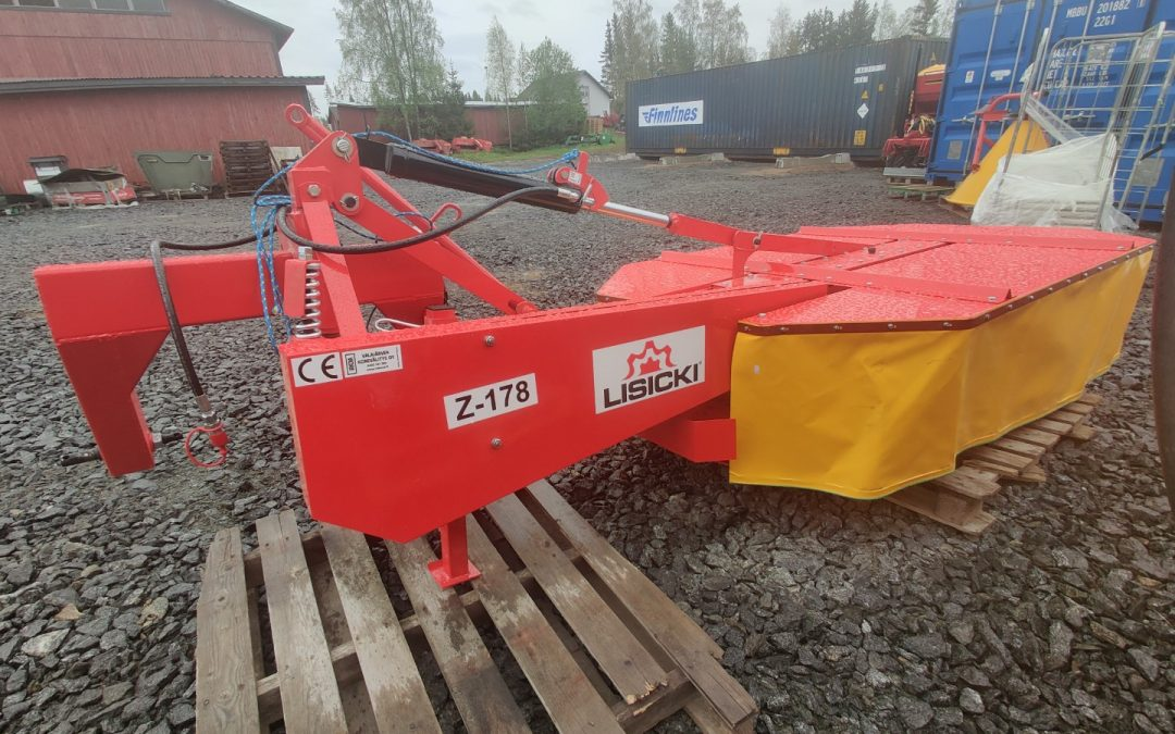 Lisicki 185cm lieriöniittokone hydraulinen – UUSI – VIDEO