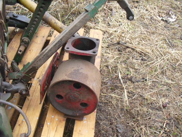 Siivapyörä McCormick 414 traktoriin