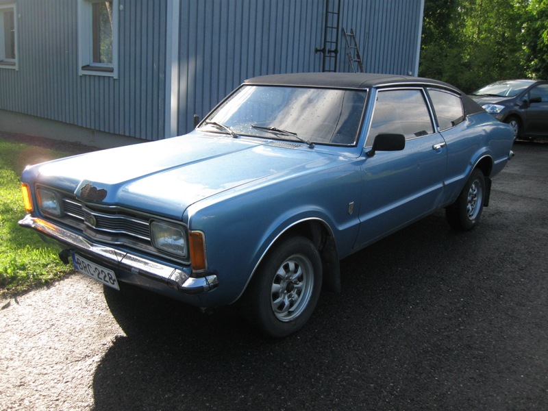 Ford Taunus Coupe XL 2.0 -74 osia