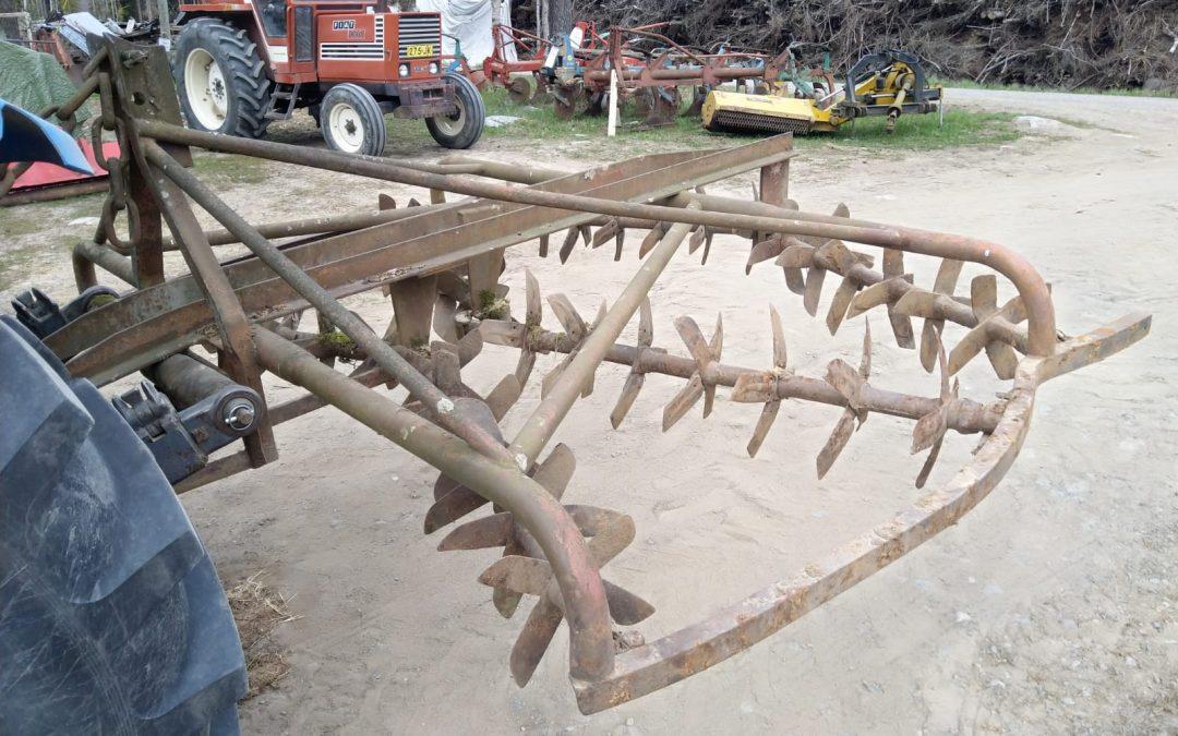 Lapiorullaäes Hankmo 6-tukkinen – 270cm
