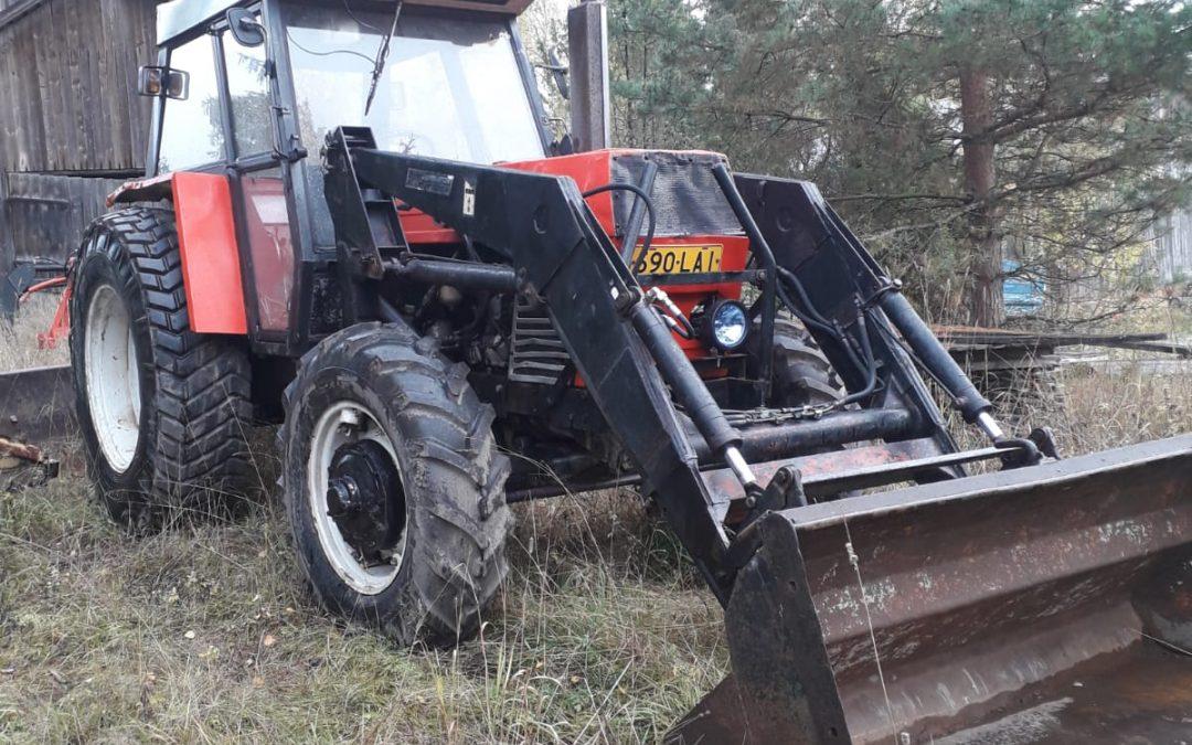 Zetor 8045 – traktori – 4×4 – ASIAKKAAN LUKUUN