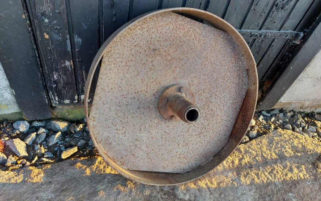 Tukipyörä vanhaan sarka-auraan
