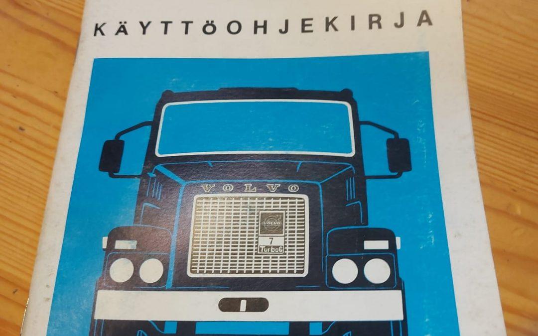 Volvo N12 kuorma-auton ohjekirja